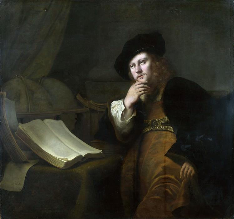 Ferdinand Bol - An Astronomer. Part 2 National Gallery UK