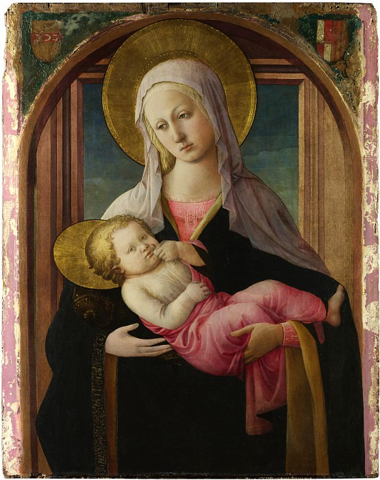 Fra Filippo Lippi and workshop - The Virgin and Child. Part 2 National Gallery UK