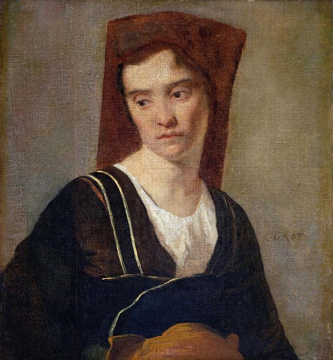 Жан-Батист-Камиль Коро (последователь) - Крестьянка. Часть 2 Национальная галерея