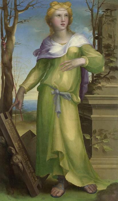 Domenico Beccafumi - Tanaquil. Part 2 National Gallery UK