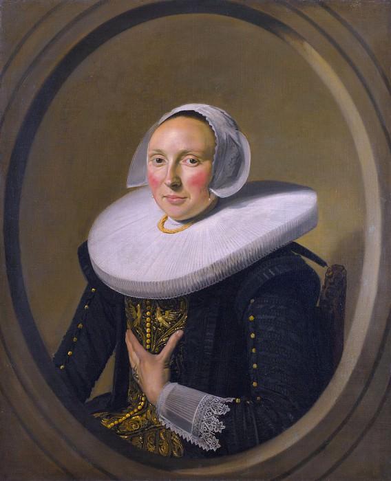 Frans Hals - Portrait of a Woman (Marie Larp). Part 2 National Gallery UK
