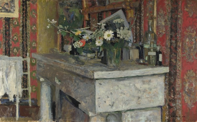 Edouard Vuillard - The Mantelpiece (La Cheminee). Part 2 National Gallery UK