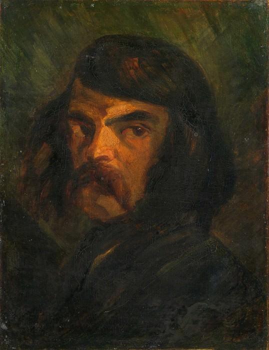 Французская школа, 19 век - Мужской портрет (Виктор Консидеран?). Часть 2 Национальная галерея