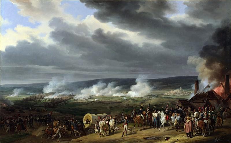 Emile Jean Horace Vernet - The Battle of Jemappes. Part 2 National Gallery UK
