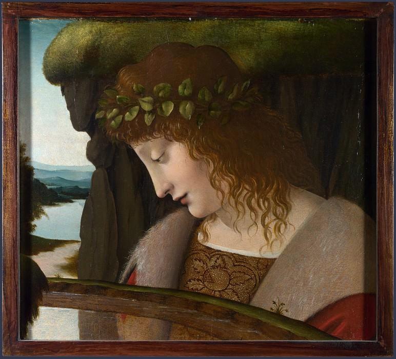 Follower of Leonardo da Vinci - Narcissus. Part 2 National Gallery UK