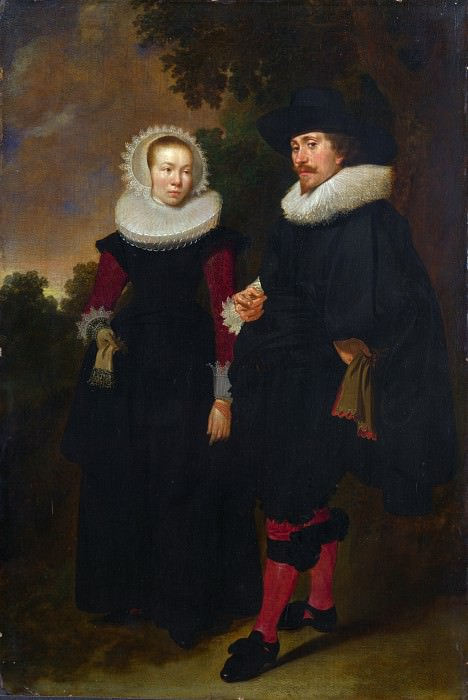 Dutch - Portrait of a Man and a Woman. Part 2 National Gallery UK