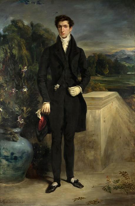 Eugene Delacroix - Louis-Auguste Schwiter. Part 2 National Gallery UK