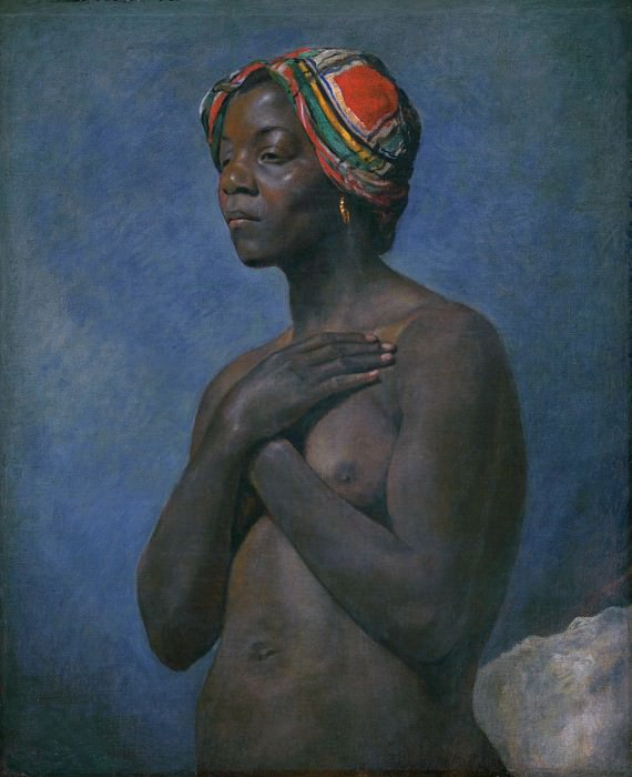 French - A Black Woman. Part 2 National Gallery UK