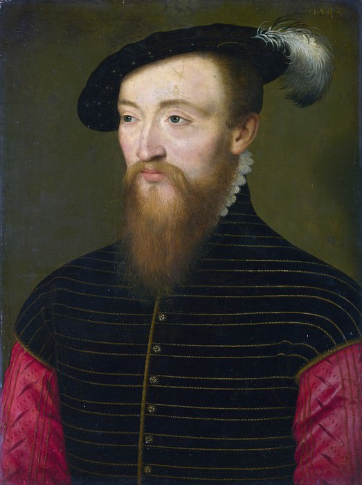 French - Portrait of a Man (Paul, Sire d Andouins). Part 2 National Gallery UK