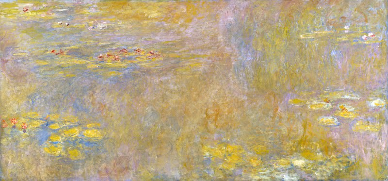 Claude-Oscar Monet - Water-Lilies. Part 2 National Gallery UK