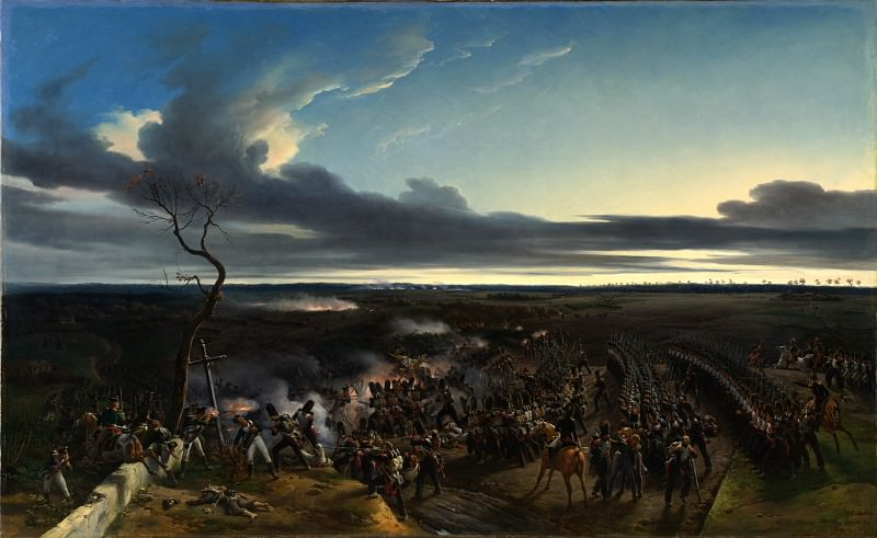 Эмиль-Жан-Орас Верне - Сражение при Монмирае. Часть 2 Национальная галерея