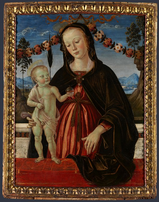 Fiorenzo di Lorenzo and Italian, Umbrian - The Virgin and Child. Part 2 National Gallery UK