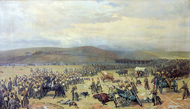 Last battle at Plevna, November 28, 1877. 1889.. Nikolay Dmitriev-Orenburgsky