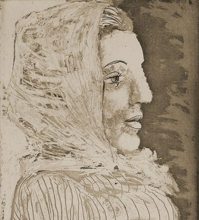 1939 Buste de femme avec fichu. Pablo Picasso (1881-1973) Period of creation: 1931-1942