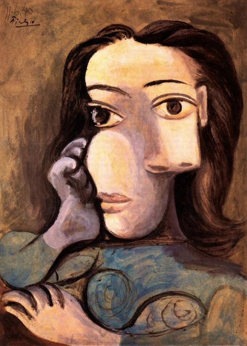 1940 Buste de femme 4. Пабло Пикассо (1881-1973) Период: 1931-1942