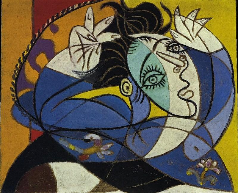 1936 Femme aux bras levВs. Pablo Picasso (1881-1973) Period of creation: 1931-1942 (TИte de Dora Maar)