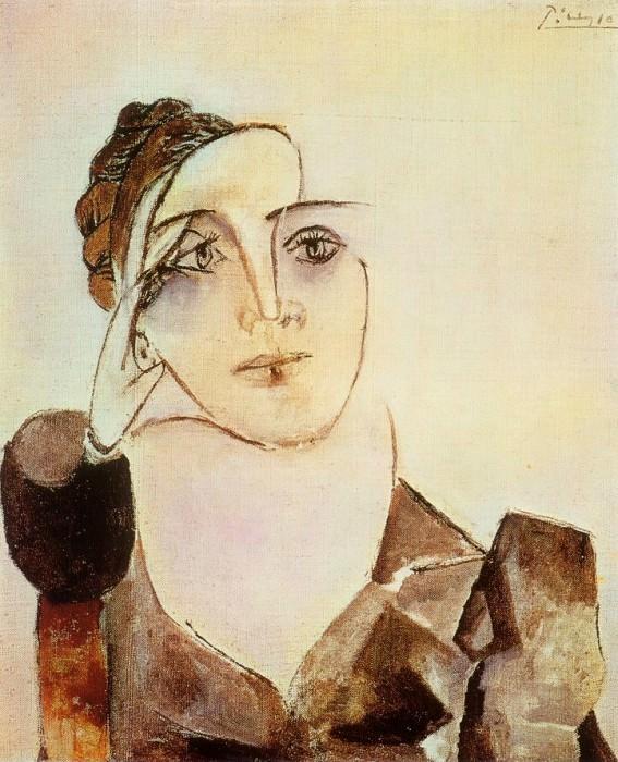 1936 Buste de Dora Maar 2. Пабло Пикассо (1881-1973) Период: 1931-1942