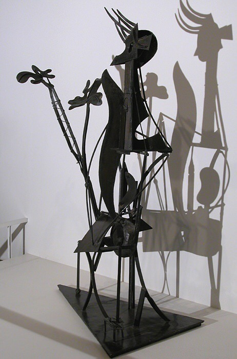1931 la femme au jardin. Пабло Пикассо (1881-1973) Период: 1931-1942