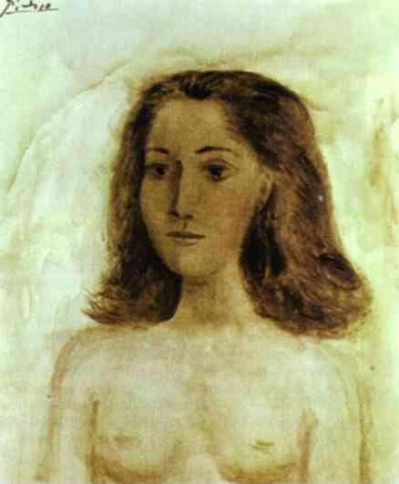 1941 Buste de femme. Пабло Пикассо (1881-1973) Период: 1931-1942