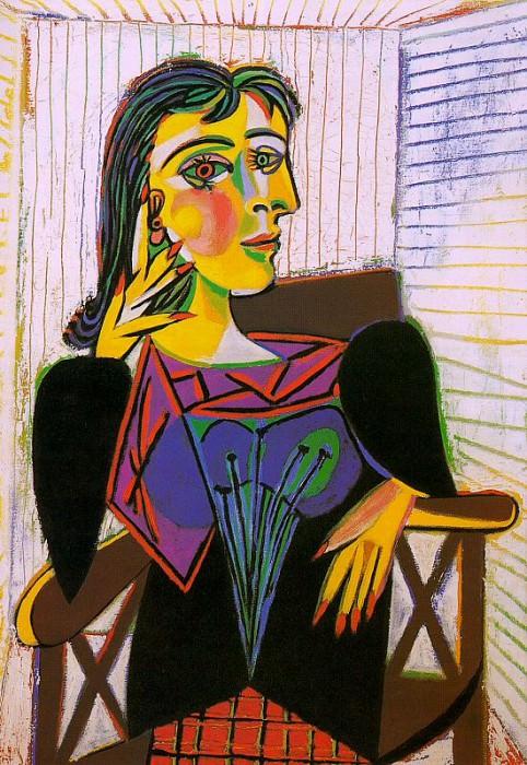 1937 Portrait de Dora Maar 5. Pablo Picasso (1881-1973) Period of creation: 1931-1942