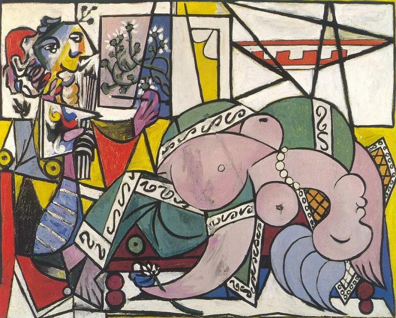 1934 Latelier (Deux personnages). Pablo Picasso (1881-1973) Period of creation: 1931-1942