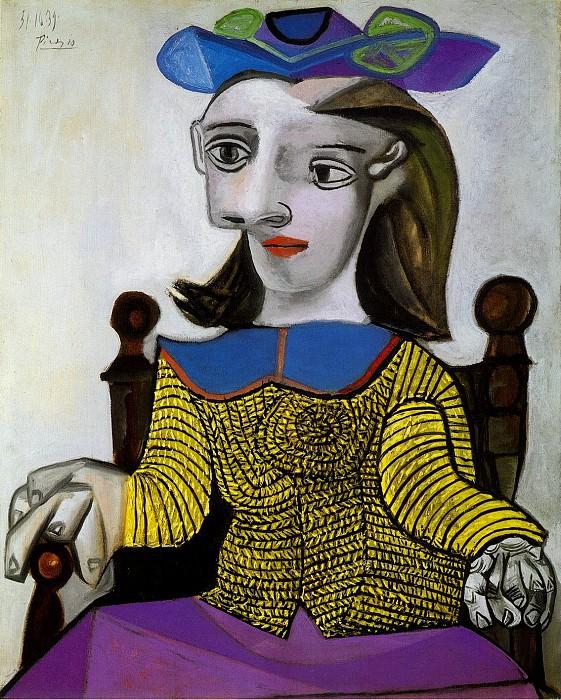 1939 Le chandail jaune (Dora). Pablo Picasso (1881-1973) Period of creation: 1931-1942