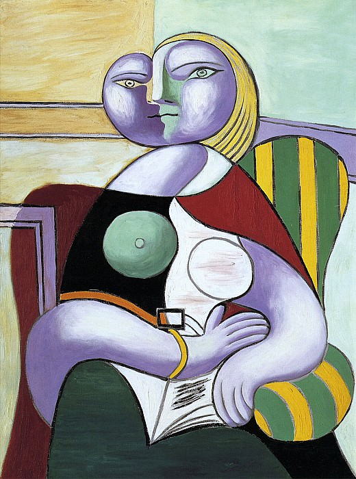 1932 La lecture. Pablo Picasso (1881-1973) Period of creation: 1931-1942