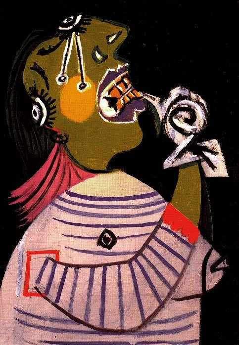 1937 La femme qui pleure 14. Pablo Picasso (1881-1973) Period of creation: 1931-1942
