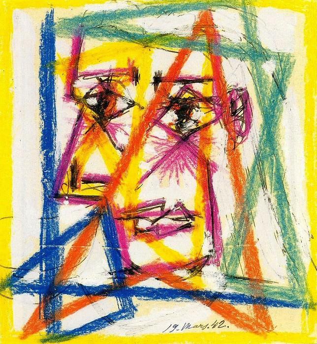 1942 TИte. Пабло Пикассо (1881-1973) Период: 1931-1942