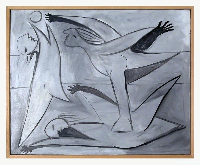 1932 Baigneuses au ballon. Pablo Picasso (1881-1973) Period of creation: 1931-1942