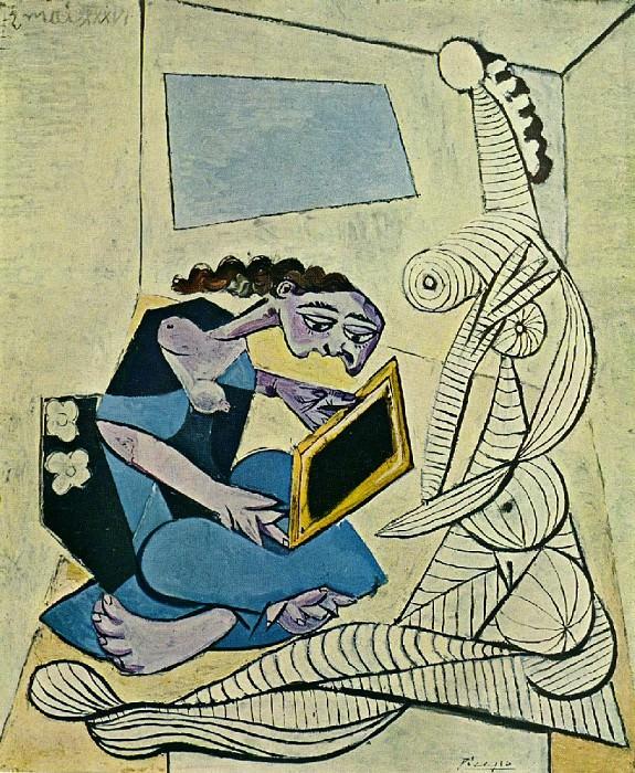 1936 Femmes dans un intВrieur. Пабло Пикассо (1881-1973) Период: 1931-1942