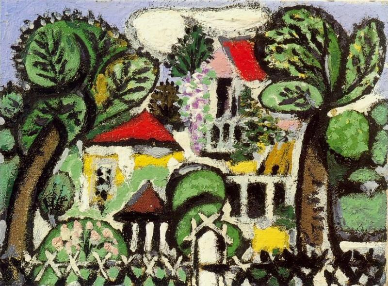 1933 Paysage1. Пабло Пикассо (1881-1973) Период: 1931-1942