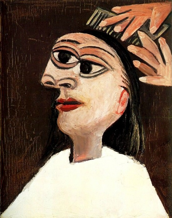 1938 La coiffure. Pablo Picasso (1881-1973) Period of creation: 1931-1942