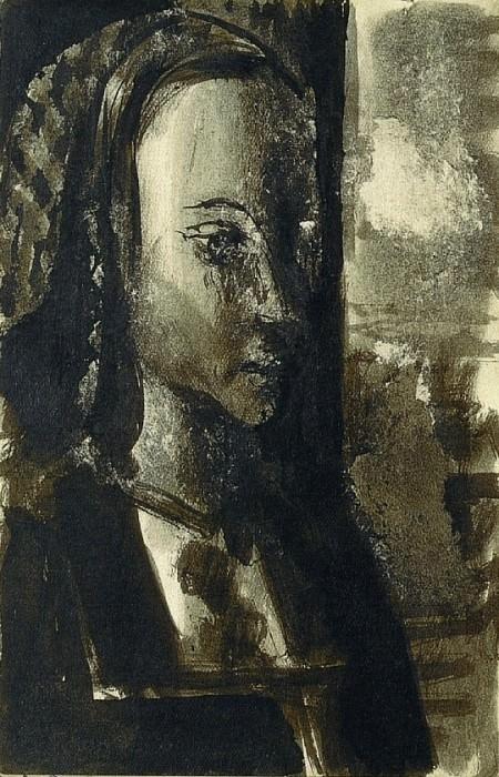 1939 Portrait dune jeune princesse, daprКs le MaМtre de Moulins. Pablo Picasso (1881-1973) Period of creation: 1931-1942