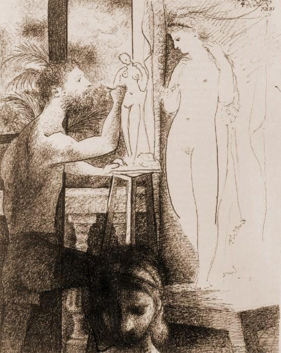 1931 Le sculpteur1. Pablo Picasso (1881-1973) Period of creation: 1931-1942