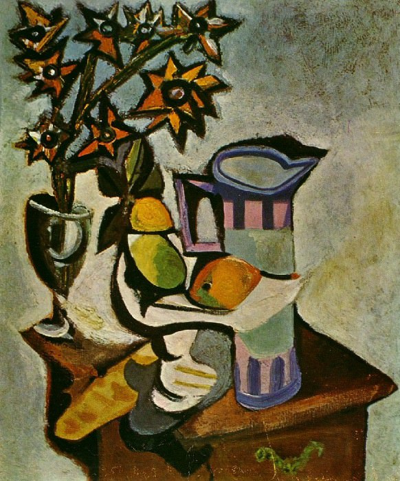 1936 Nature morte. Pablo Picasso (1881-1973) Period of creation: 1931-1942