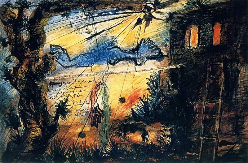 1936 Le crayon qui parle . . .. Pablo Picasso (1881-1973) Period of creation: 1931-1942