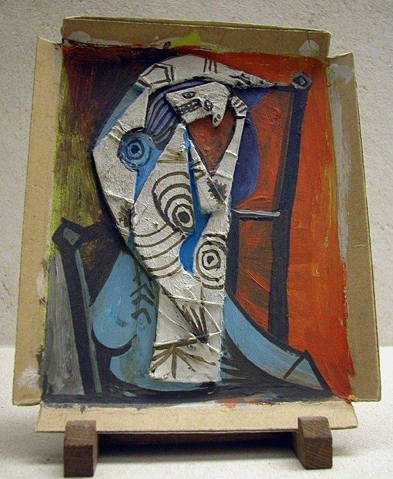 1940 Femme assise aux bras levВs 1. Pablo Picasso (1881-1973) Period of creation: 1931-1942