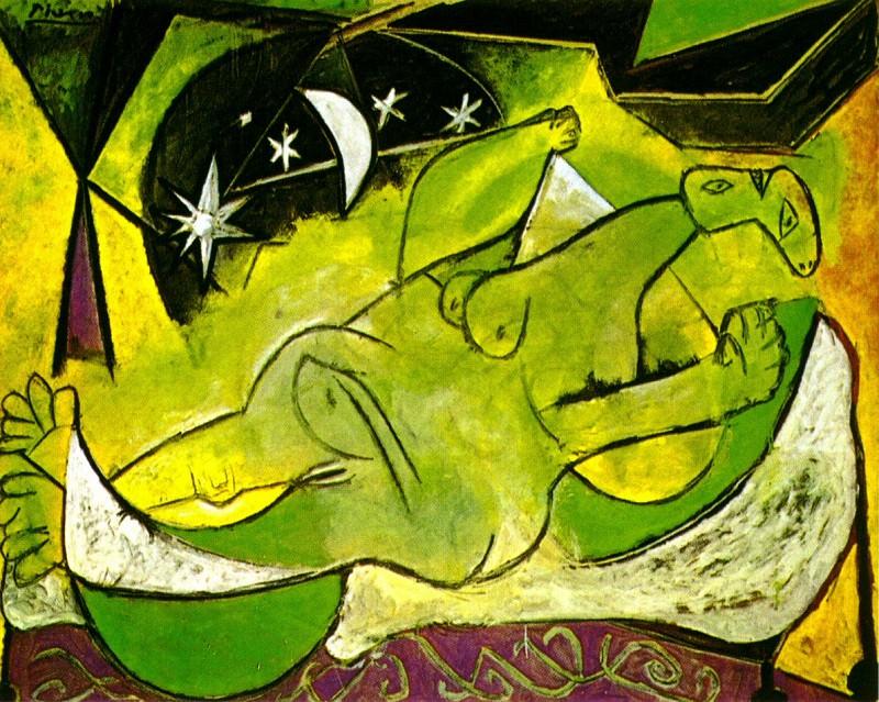 1936 Femme nue couchВe. Пабло Пикассо (1881-1973) Период: 1931-1942 (Nu ВtoilВ)