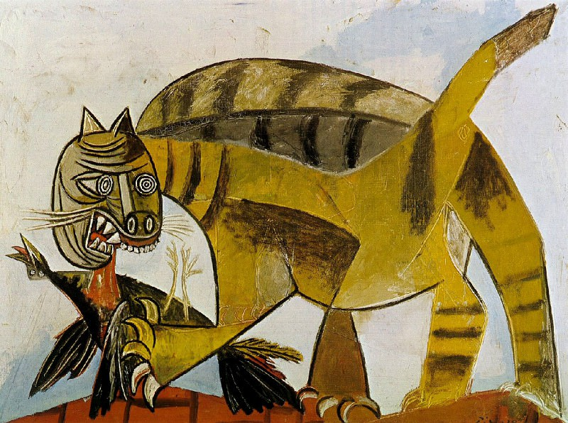 1939 Le chat Е loiseau. Pablo Picasso (1881-1973) Period of creation: 1931-1942