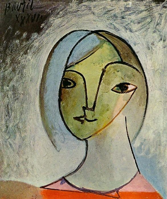 1936 Buste de femme. Pablo Picasso (1881-1973) Period of creation: 1931-1942