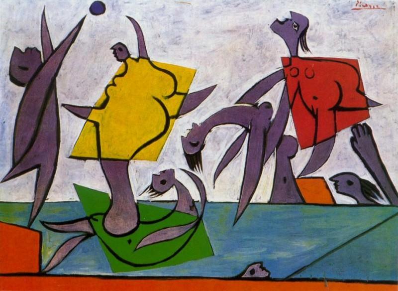 1932 Le sauvetage. Pablo Picasso (1881-1973) Period of creation: 1931-1942 (Jeu de plage et sauvetage)