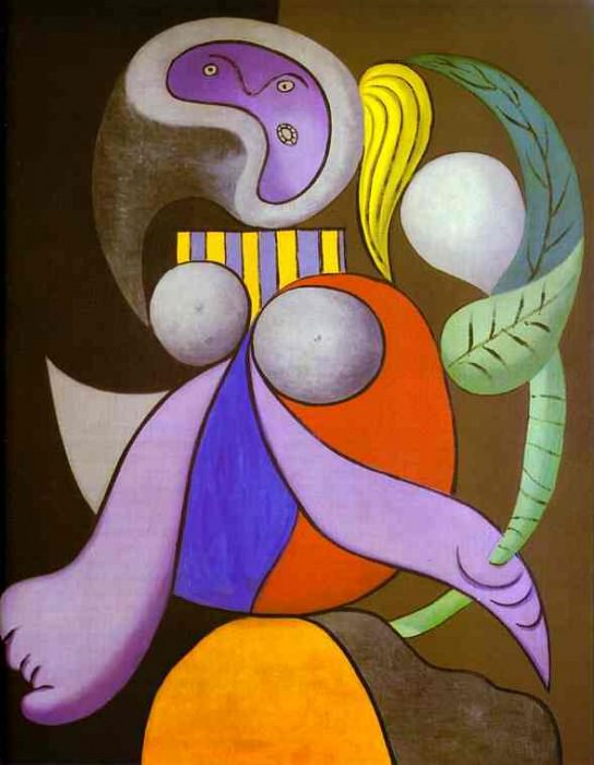 1932 Femme avec une fleur. Пабло Пикассо (1881-1973) Период: 1931-1942