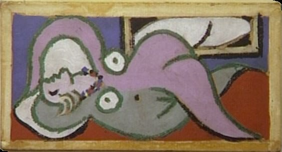 1932 Femme couchВe. Pablo Picasso (1881-1973) Period of creation: 1931-1942 (Nu couchВ)