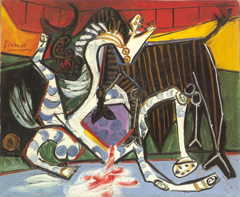 1934 Courses de taureaux (Corrida). Пабло Пикассо (1881-1973) Период: 1931-1942