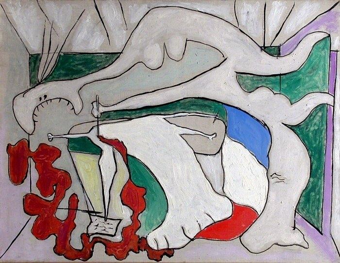 1931 La femme au stylet (Mort de Marat). Pablo Picasso (1881-1973) Period of creation: 1931-1942