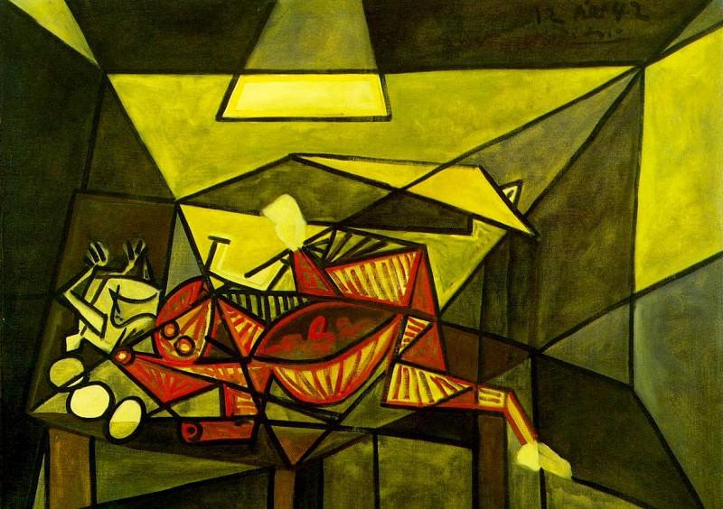 1942 Nature morte. Пабло Пикассо (1881-1973) Период: 1931-1942
