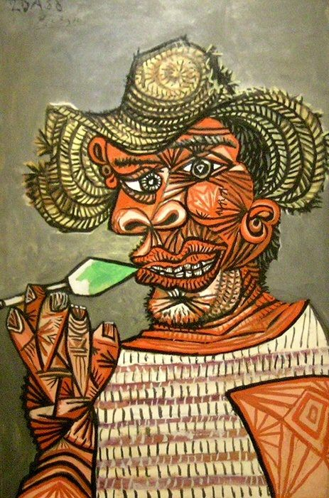 1938 Homme Е la sucette 1. Pablo Picasso (1881-1973) Period of creation: 1931-1942