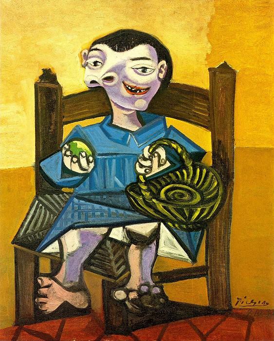 1939 GarЗon au panier. Pablo Picasso (1881-1973) Period of creation: 1931-1942