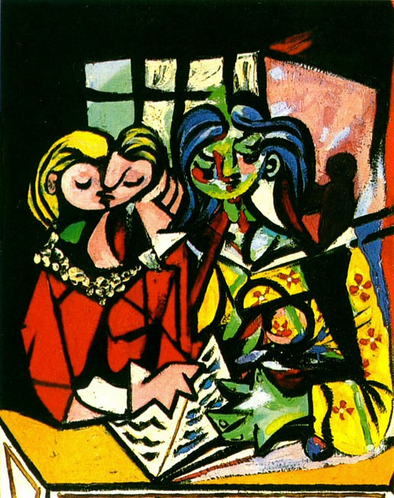 1934 Deux personnages 1. Pablo Picasso (1881-1973) Period of creation: 1931-1942